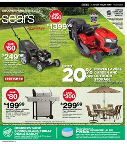 Briarwood deals in the Sears weekly ad in Ann Arbor MI