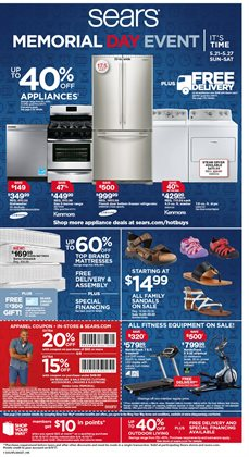 Department Stores deals in the Sears weekly ad in Sterling VA