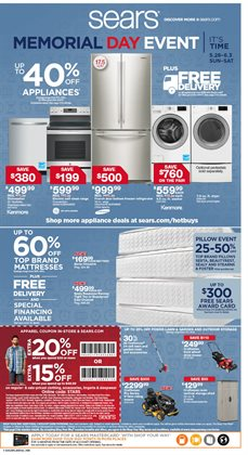 Sears deals in the Antioch CA weekly ad