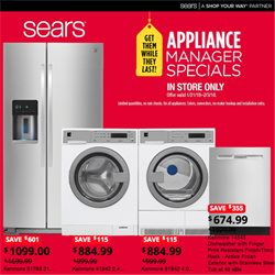 Sears deals in the New York weekly ad