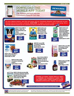 Bleach deals in the Commissary weekly ad in Los Angeles CA