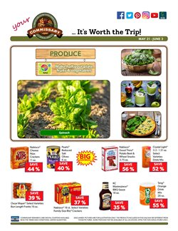 Commissary deals in the Dallas TX weekly ad