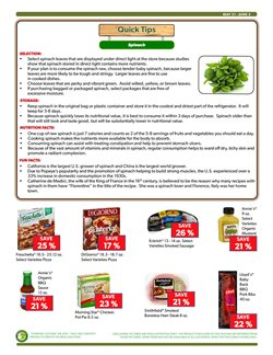 Refrigerators deals in the Commissary weekly ad in New York