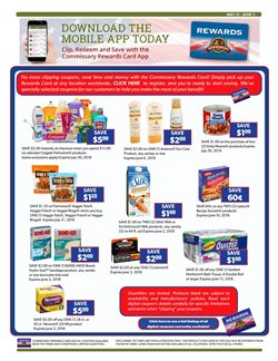 Colgate deals in the Commissary weekly ad in New York