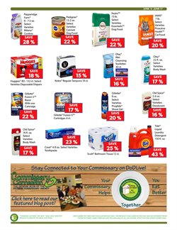Tide deals in the Commissary weekly ad in New York