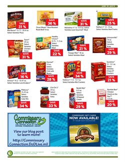 Pillsbury deals in the Commissary weekly ad in New York
