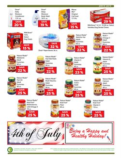 Milk deals in the Commissary weekly ad in New York