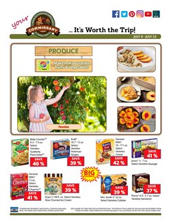 Betty Crocker deals in the Commissary weekly ad in New York