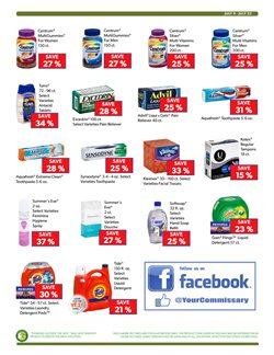Toothpaste deals in the Commissary weekly ad in Los Angeles CA