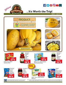 Nestle deals in the Commissary weekly ad in New York