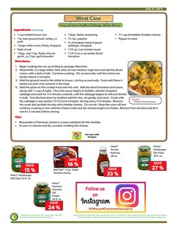 Spices deals in the Commissary weekly ad in New York