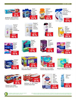 Pharmaceutical products deals in the Commissary weekly ad in New York