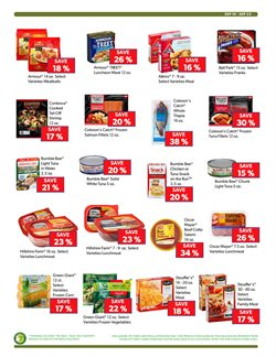 Bumble Bee deals in the Commissary weekly ad in New York