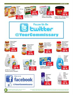 Gel deals in the Commissary weekly ad in New York