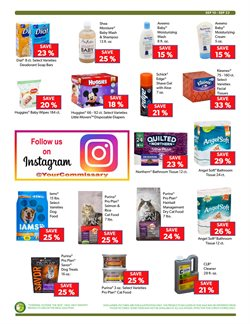 Cleaners deals in the Commissary weekly ad in New York