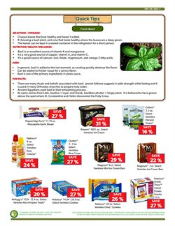 Kellogg's deals in the Commissary weekly ad in New York