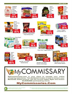 Christmas deals in the Commissary weekly ad in Rapid City SD