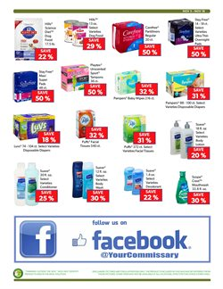 Tampons deals in the Commissary weekly ad in New York