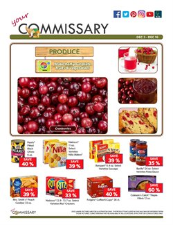 Crackers deals in the Commissary weekly ad in Rapid City SD