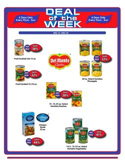 Chicken deals in the Commissary weekly ad in Vacaville CA