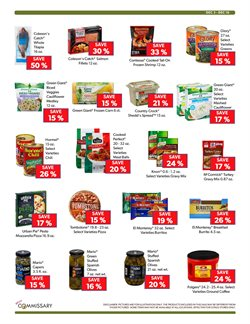 Balls deals in the Commissary weekly ad in New York
