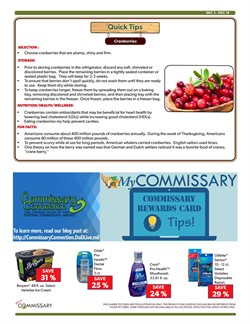 Furniture deals in the Commissary weekly ad in Akron OH