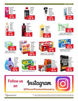 Diapers deals in the Commissary weekly ad in New York