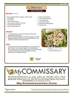 Lettuce deals in the Commissary weekly ad in New York
