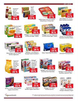Yoplait deals in the Commissary weekly ad in New York
