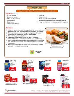 Top deals in the Commissary weekly ad in Dallas TX