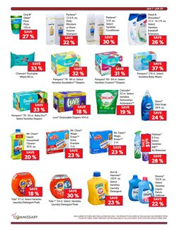 Dishwasher deals in the Commissary weekly ad in New York