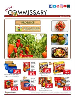 Chicken deals in the Commissary weekly ad in Redding CA