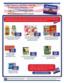 Matches deals in the Commissary weekly ad in Santa Clara CA