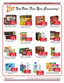 Popcorn deals in the Commissary weekly ad in Phoenix AZ