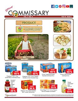 Commissary deals in the Spokane WA weekly ad