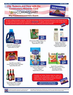 Balloon deals in the Commissary weekly ad in Abilene TX