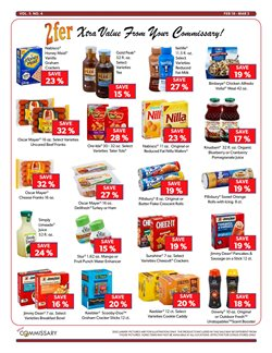 Bowl deals in the Commissary weekly ad in New York