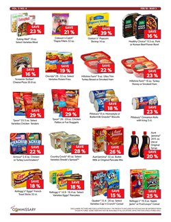 Popcorn deals in the Commissary weekly ad in New York