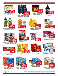 Animals deals in the Commissary weekly ad in New York