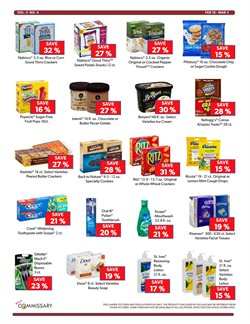 Soap deals in the Commissary weekly ad in Vacaville CA
