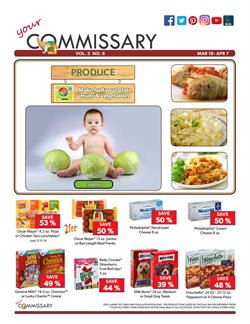Philadelphia deals in the Commissary weekly ad in New York