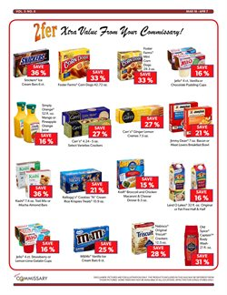 Chocolate deals in the Commissary weekly ad in New York