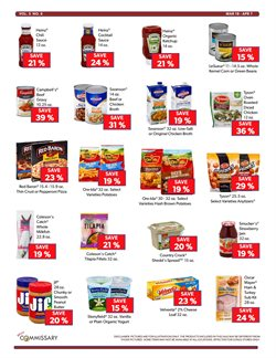 Campbell's deals in the Commissary weekly ad in New York