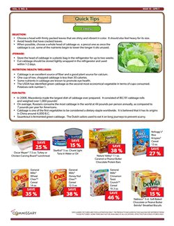 Tuna deals in the Commissary weekly ad in New York