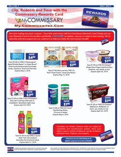 Neutrogena deals in the Commissary weekly ad in New York
