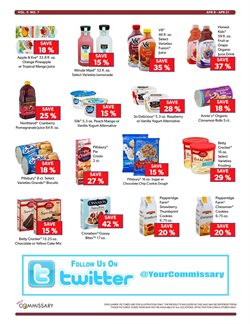 Cakes deals in the Commissary weekly ad in New York