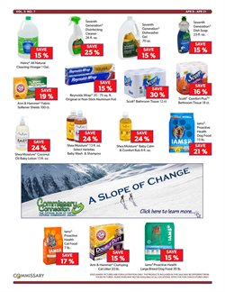 Toothbrush deals in the Commissary weekly ad in New York