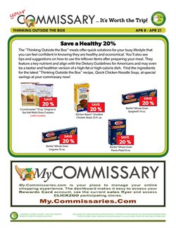 Soup deals in the Commissary weekly ad in New York