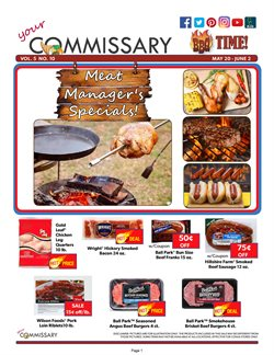 Commissary deals in the Denver CO weekly ad