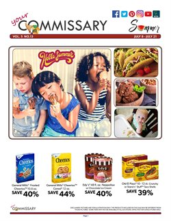 Commissary deals in the Tonawanda NY weekly ad